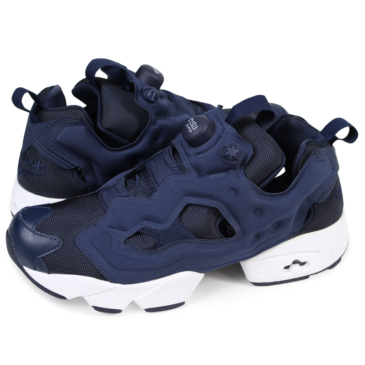 Reebok Reebok INSTA PUMP FURY OG sneaker insta pump fury original mesh  leather men s women s M48559 white black unisex  7   17 new stock   regular  5c6acc84a
