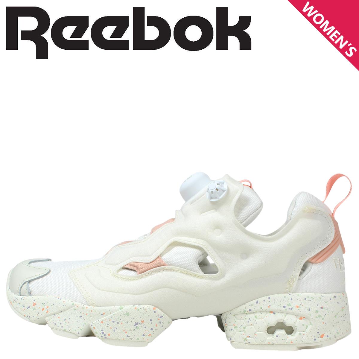 1f4984e01d89 Reebok Reebok pump fury cerebrate sneakers Womens INSTAPUMP FURY CELEBRATE  V69801 shoes white  ☆ 10.