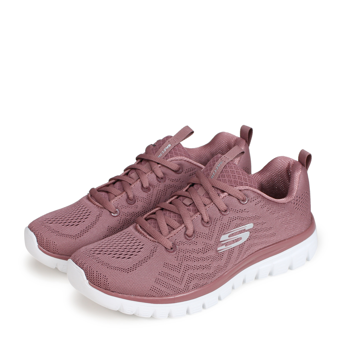 203db803b866 SKECHERS GRACEFUL GET CONNECTED スケッチャーズグレースフルレディーススニーカー 12615 pink  load  planned Shinnyu load in reservation product 9 20 containing  ...