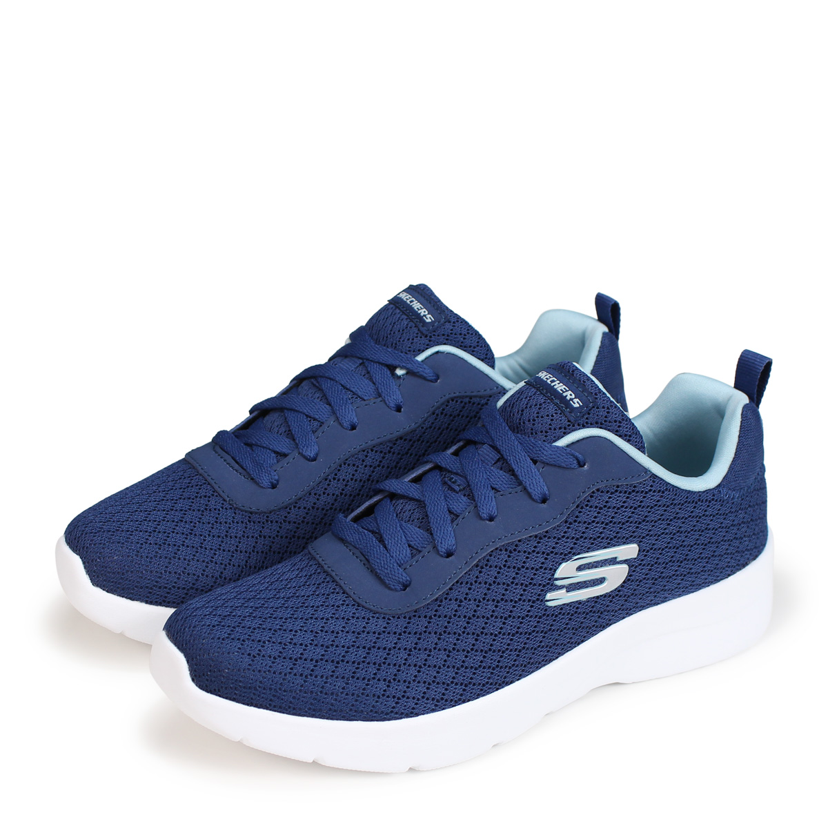 skechers navy blue sneakers