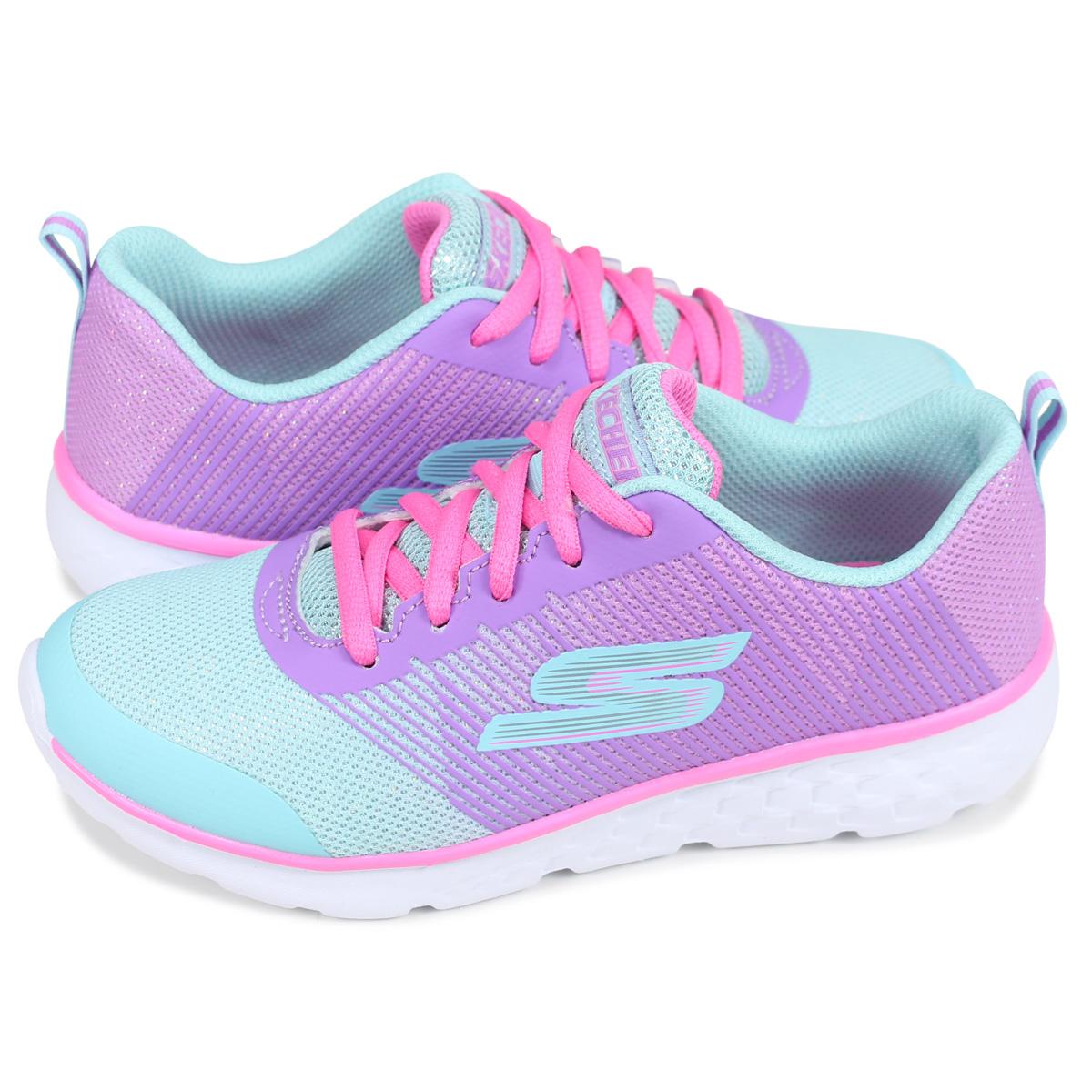 81353 go run 400 | scarlett | Navy pink, Skechers, Running