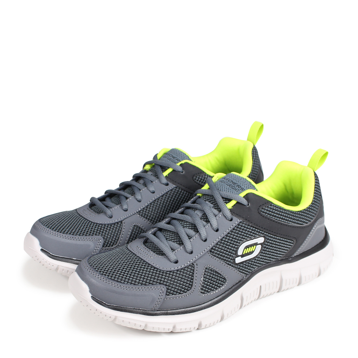25f49fdce634 SKECHERS TRACK スケッチャーズトラックメンズスニーカー 999724 gray  load planned Shinnyu load  in reservation product 9 20 containing   189
