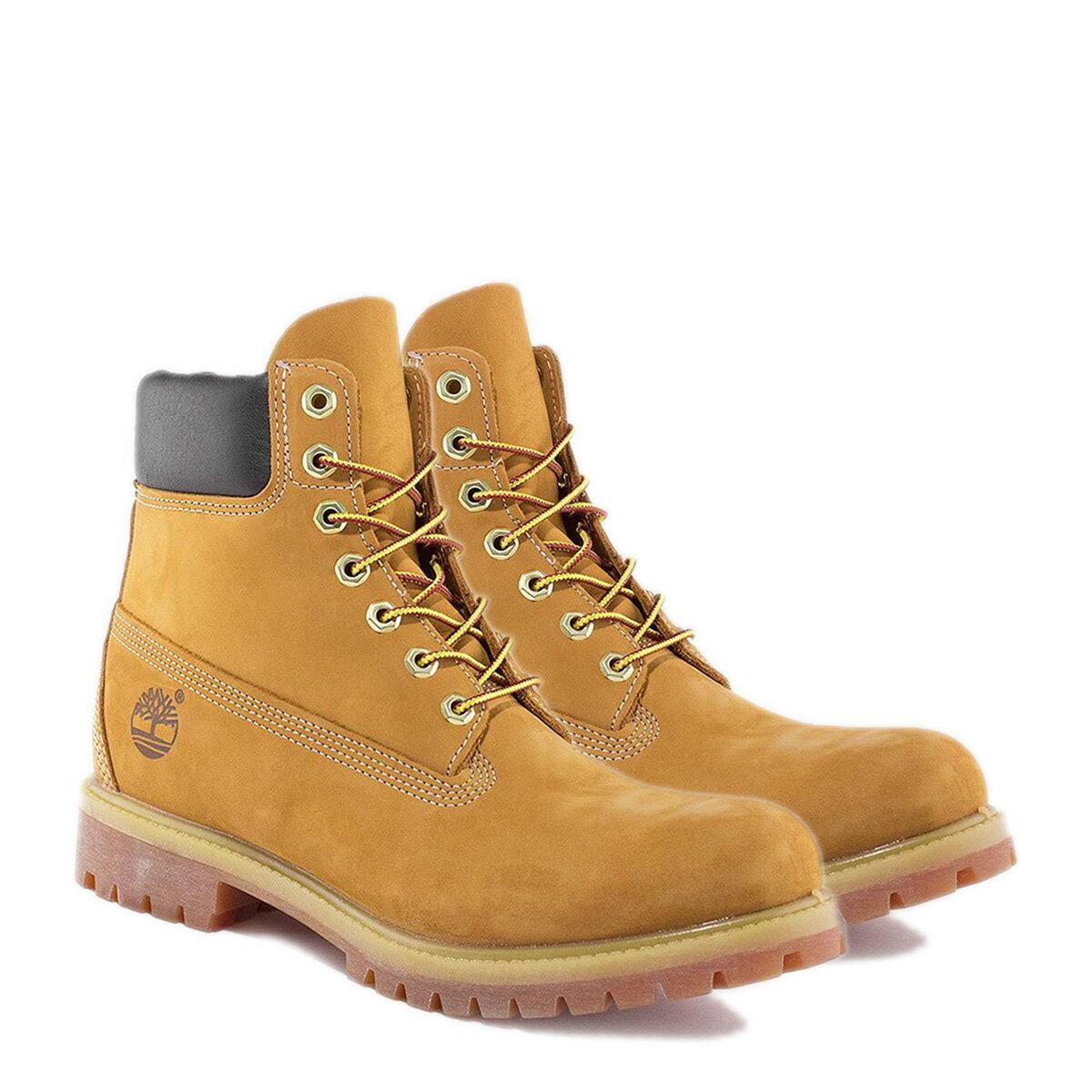 【最大2000円OFFクーポン】 Timberland MENS 6-INCH PREMIUM WATERPROOF BOOTS ティンバーランド ブーツ メンズ 6インチ イエロー 10061