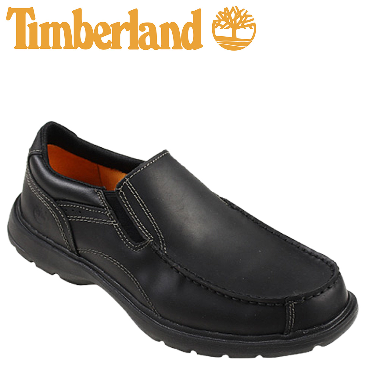 Timberland ??????????????????????????????? EK RICHMONT SLIP ON leather 5,045A black men