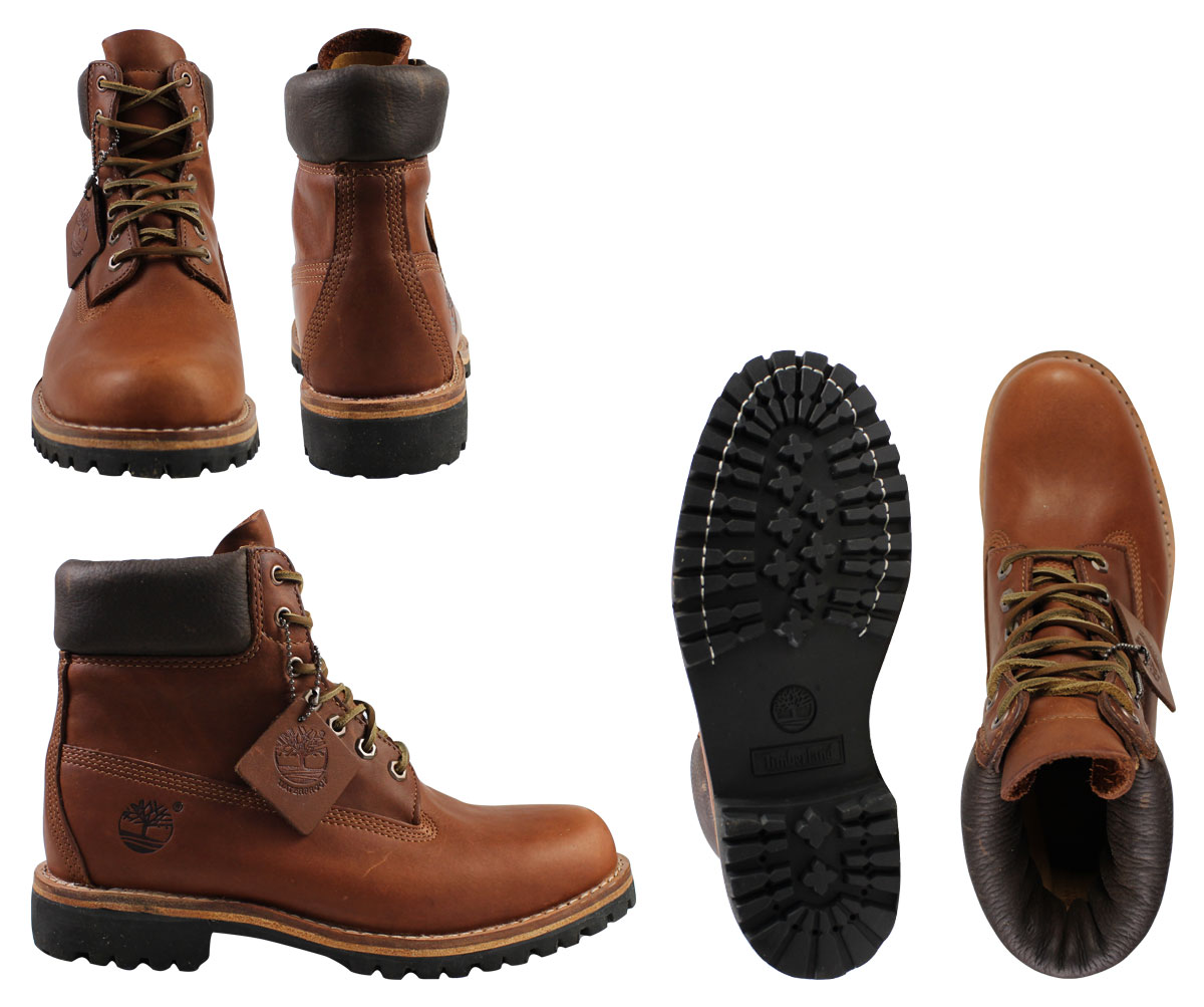 Timberland Mens Earthkeepers Heritage Rugged Ltd Boot Boots Eltidy 5902r Brown 8 1 New In Stock