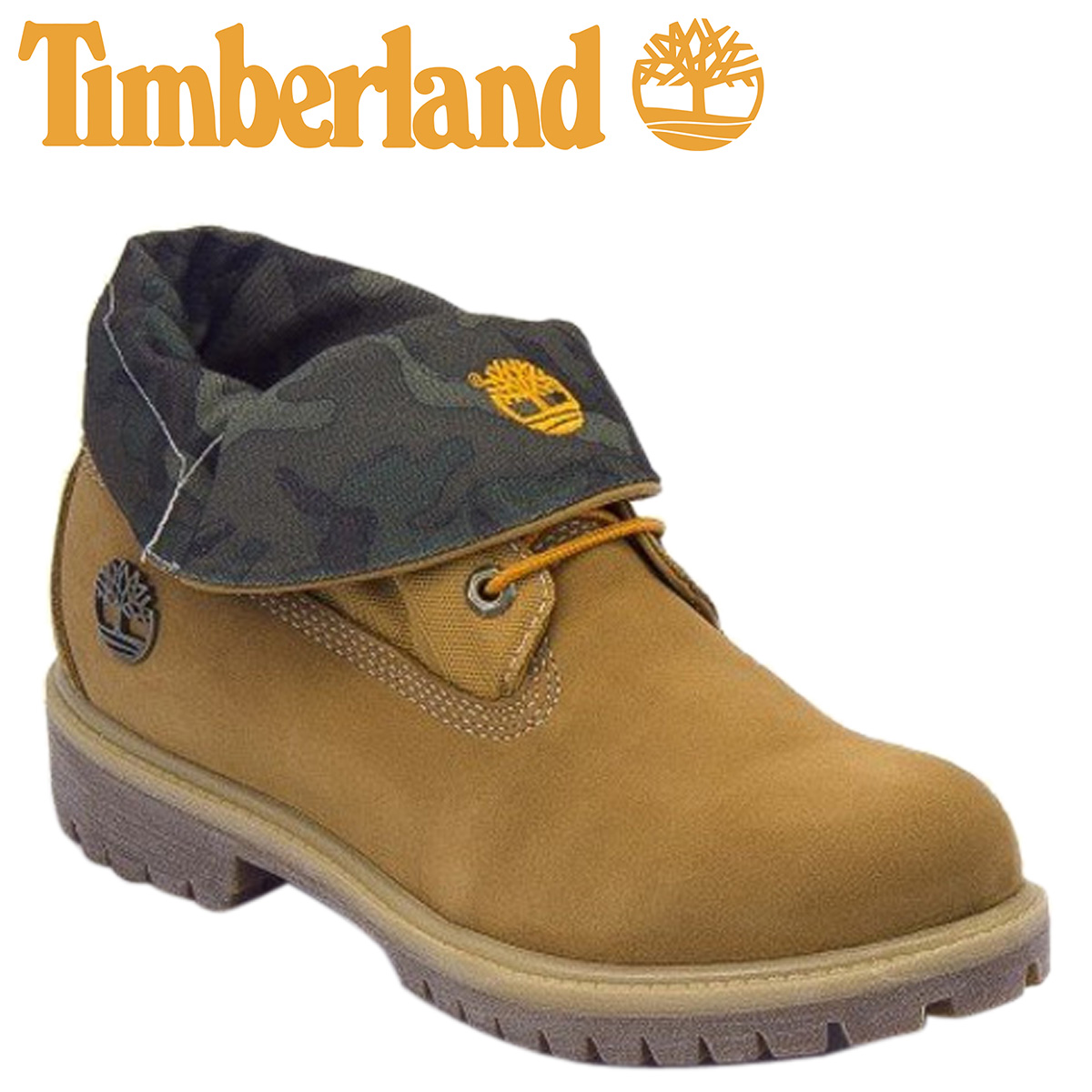 New Style Timberland Roll Top Wheat Yellow Boots For Women