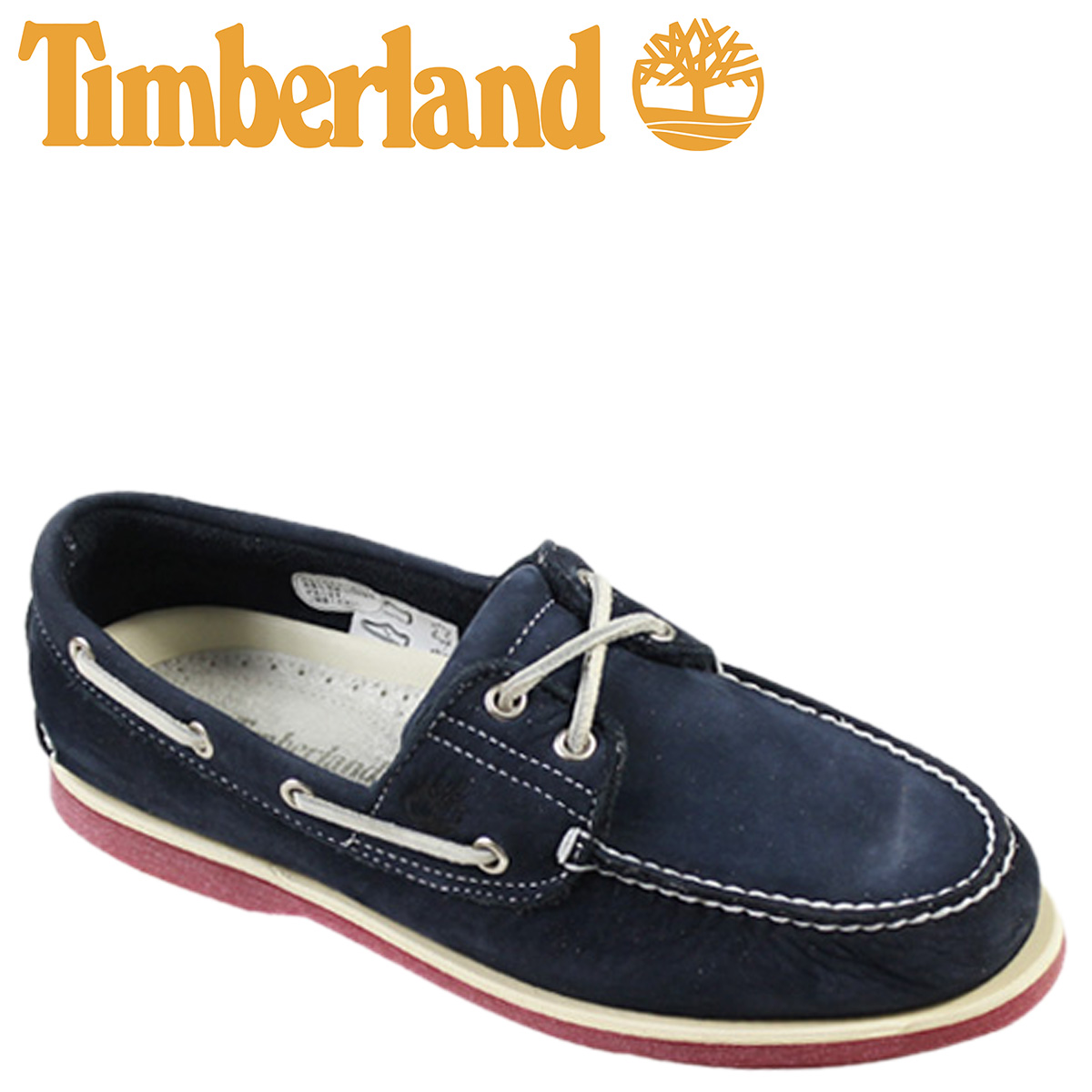 Timberland Timberland icon classical music 2 hall boat shoes ICON CLASSIC 2 EYE leather deck shoes 6,305A navy men