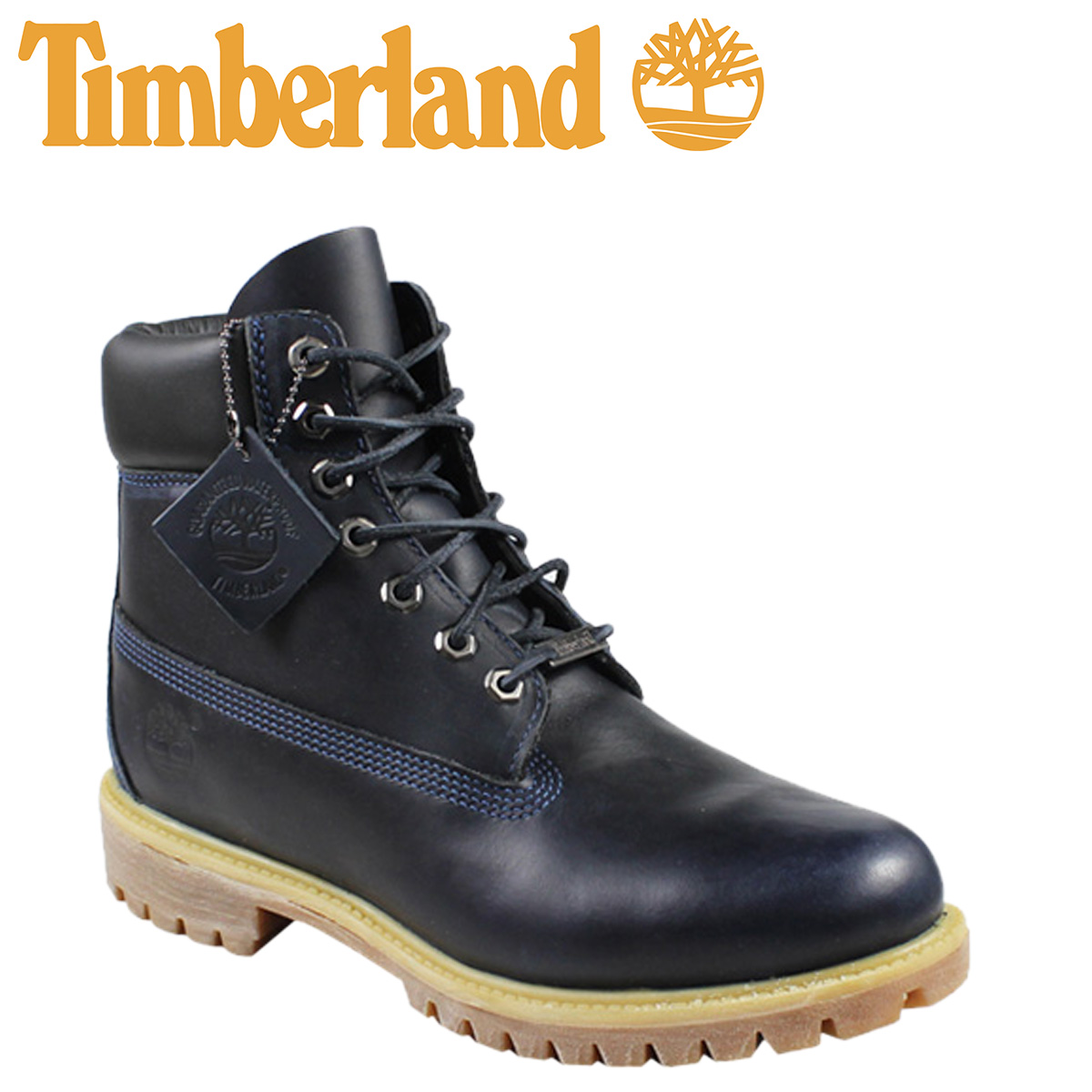 e30405902 Point 2 x waterproof Timberland Timberland 6 inch premium boots INCH  PREMIUM WATERPROOF BOOTS nubuck men s 6557A Navy  3   24 new stock    regular