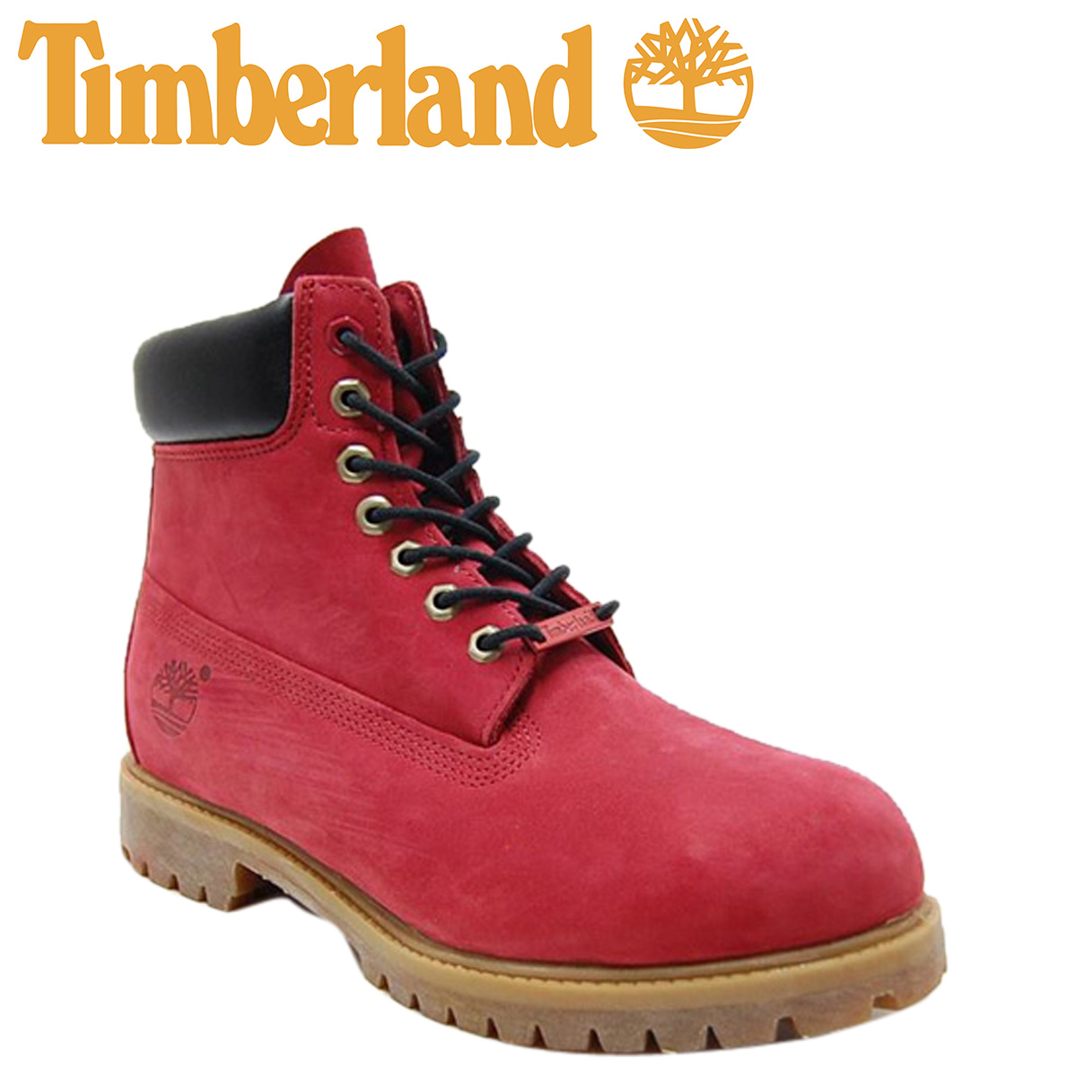 368f4df169f Icon of timberland Timberland 6 inch premium boots ICON 6INCH PREMIUM BOOT  nubuck 6942R Ruby Red [3 / 24 new in stock] [regular]