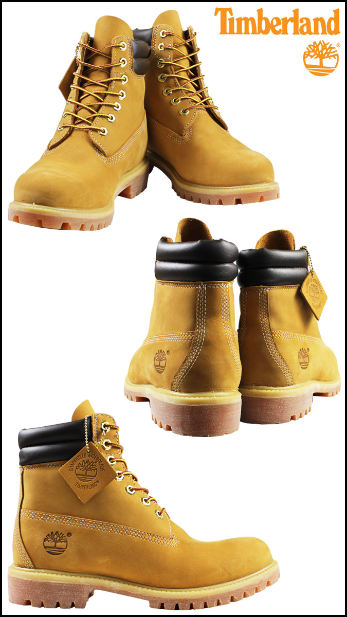 Timberland Timberland 6 inch double boots 6 INCH DOUBLE COLLAR BOOT nubuck mens 73540 wheat [3 / 24 new in stock] [regular] ★ ★
