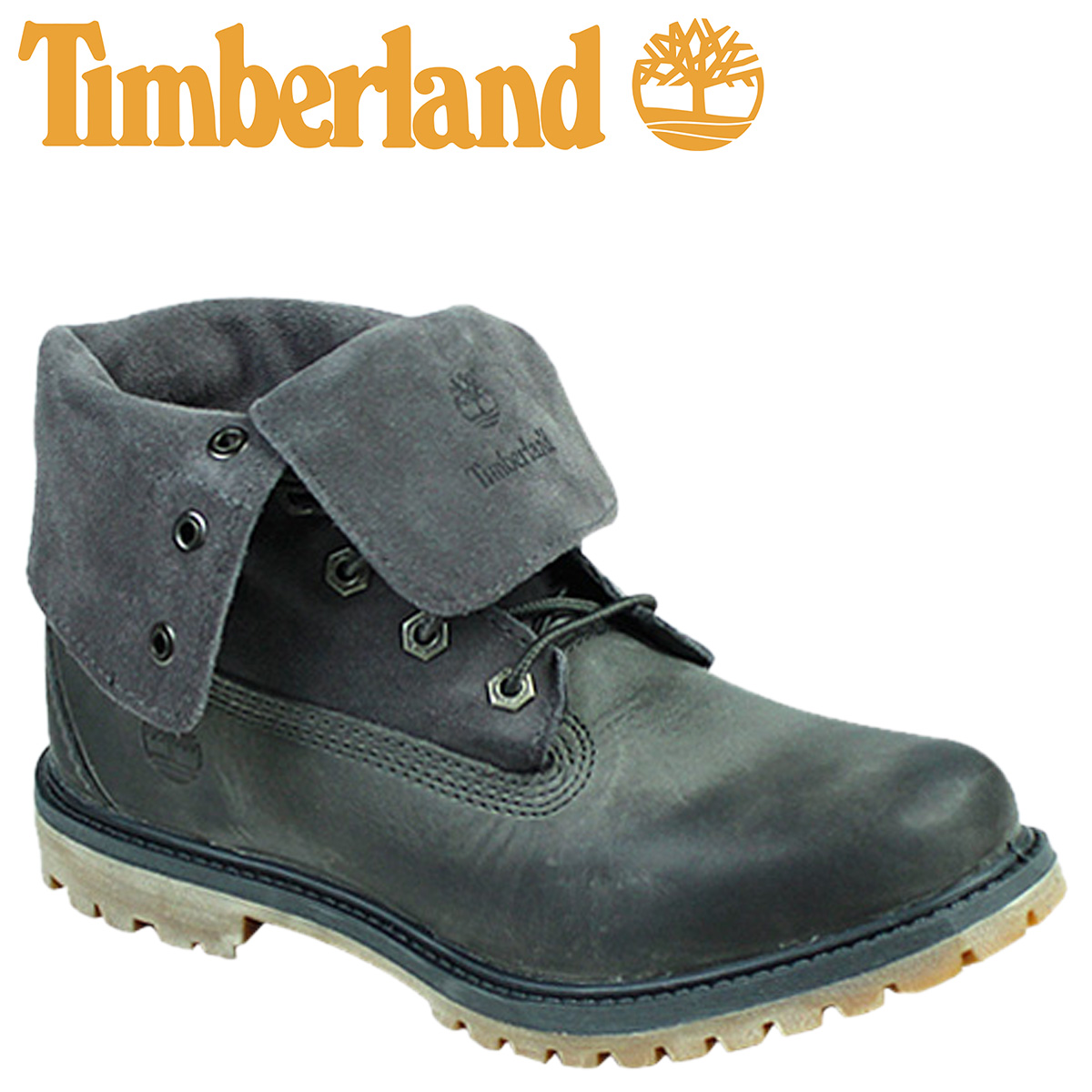 timberland womens suede roll top boot