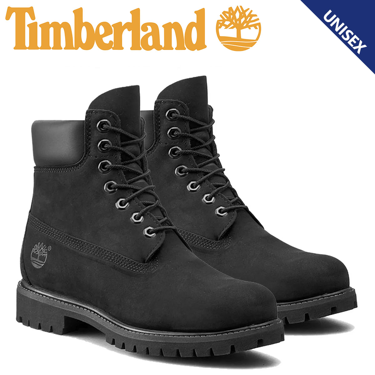 Point 2 x waterproof Timberland Timberland 6 inch premium boots INCH  PREMIUM WATERPROOF BOOTS nubuck mens Womens waterproof 10073 black unisex   10   9 new ... 4c9e3adac4d02