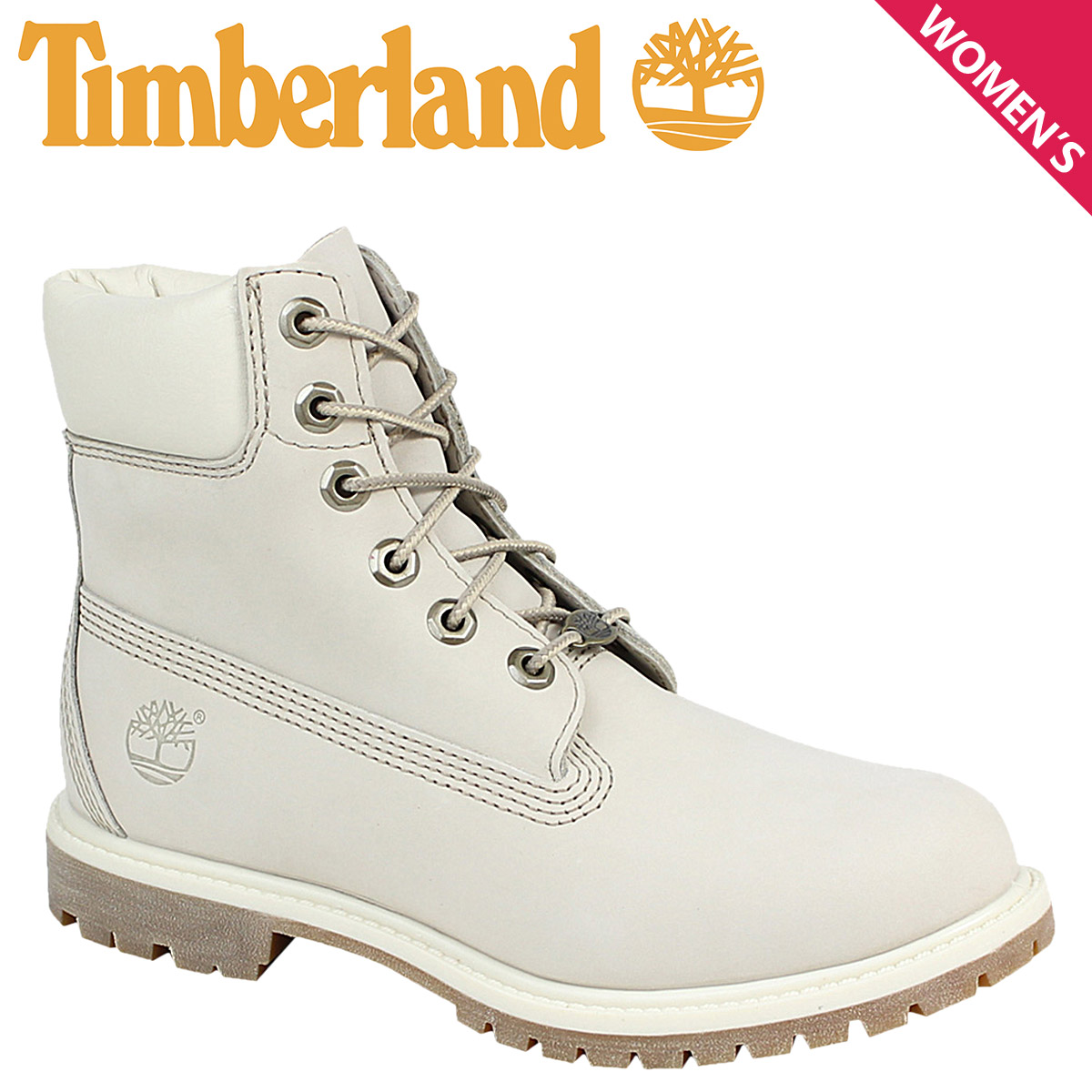 ALLSPORTS  Women s Timberland Timberland 6 INCHI 6 inch premium boots  WOMENS 6-INCH PREMIUM WATERPROOF BOOTS 23623 n W wise water white  5e8150755a