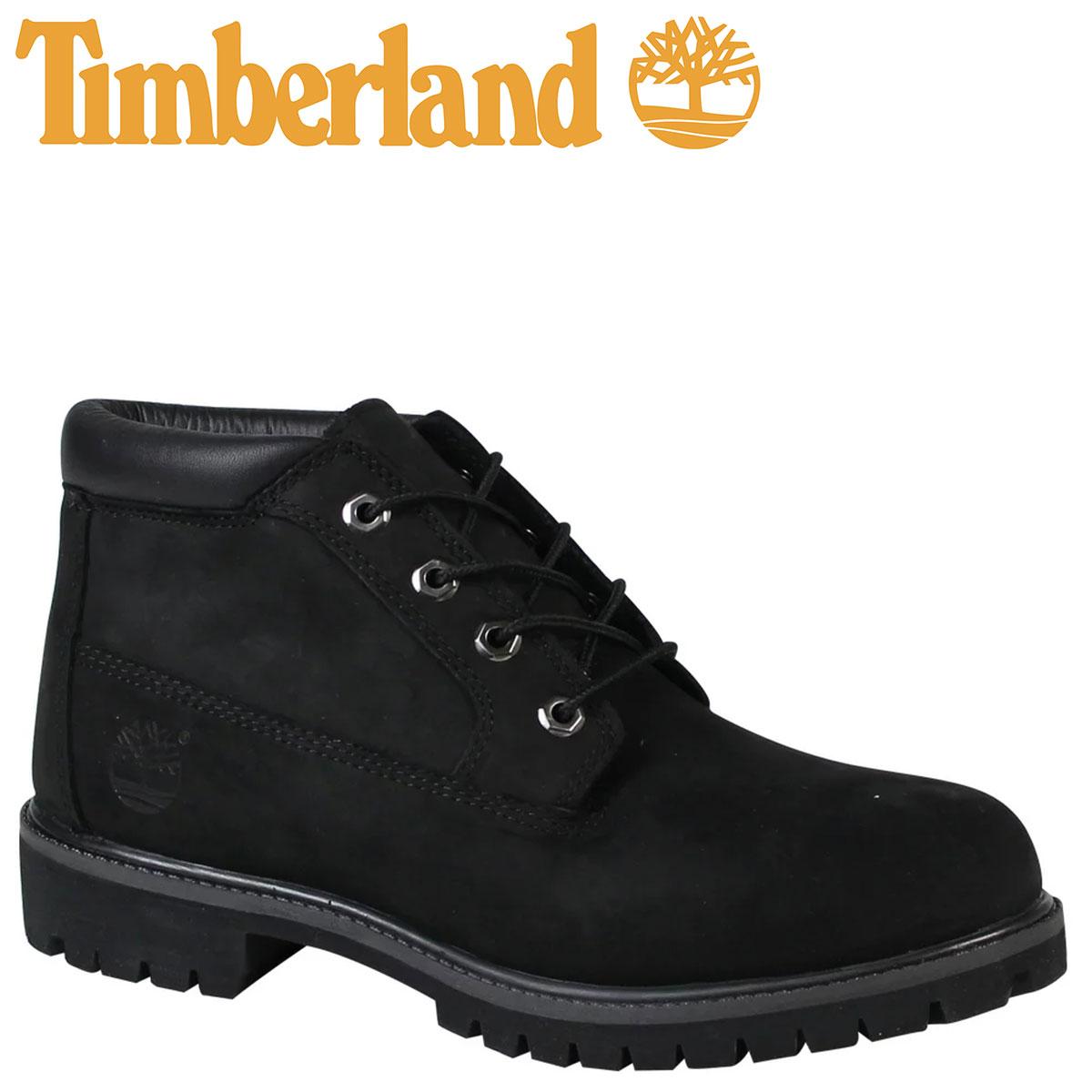 Timberland ICON WATERPROOF CHUKKA 32085 ティンバーランド ブーツ チャッカ メンズ Mワイズ 防水 ブラック [7/26 追加入荷] [1187]