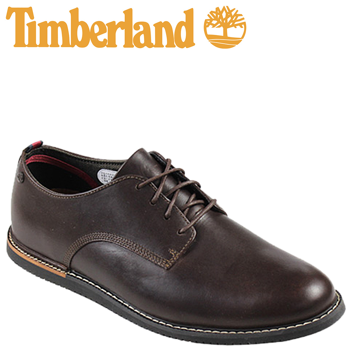 5521A Brown men's Oxford shoes and leather EK BROOK PARK WEDGE OX wedge  Timberland Earthkeepers Timberland Brook Park [3 / 24 new in stock]  [regular]