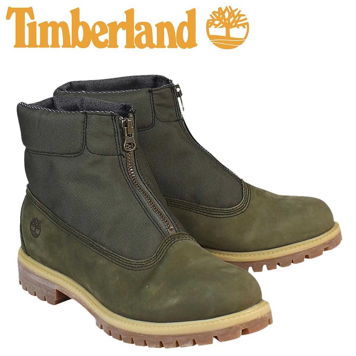 Timberland Timberland ICON PREMIUM ZIP TOP CHUKKA ブーツアイコンプレミアムジップトップチャッカ 6528B W Wise army green men