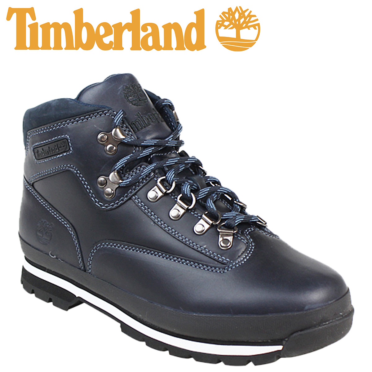 1fc03e0af51980 Timberland Timberland euro hiker boots EUROHIKER LTR NAVY SM leather men's  6601A Navy work boots ...