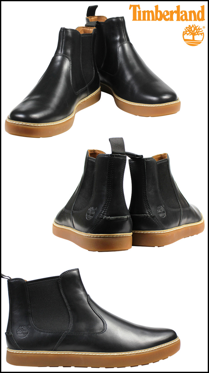 Timberland Timberland side Gore boots EK HUDSTON CHEALSEA 9,652A W Wise men