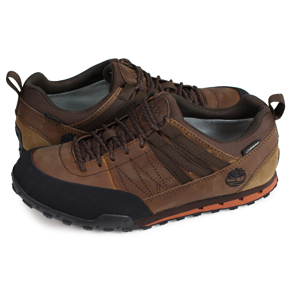 Timberland GREELEY APPROACH LOW GORE TEX Timberland sneakers Greeley approach men brown A116E [load planned Shinnyu load in reservation product 210
