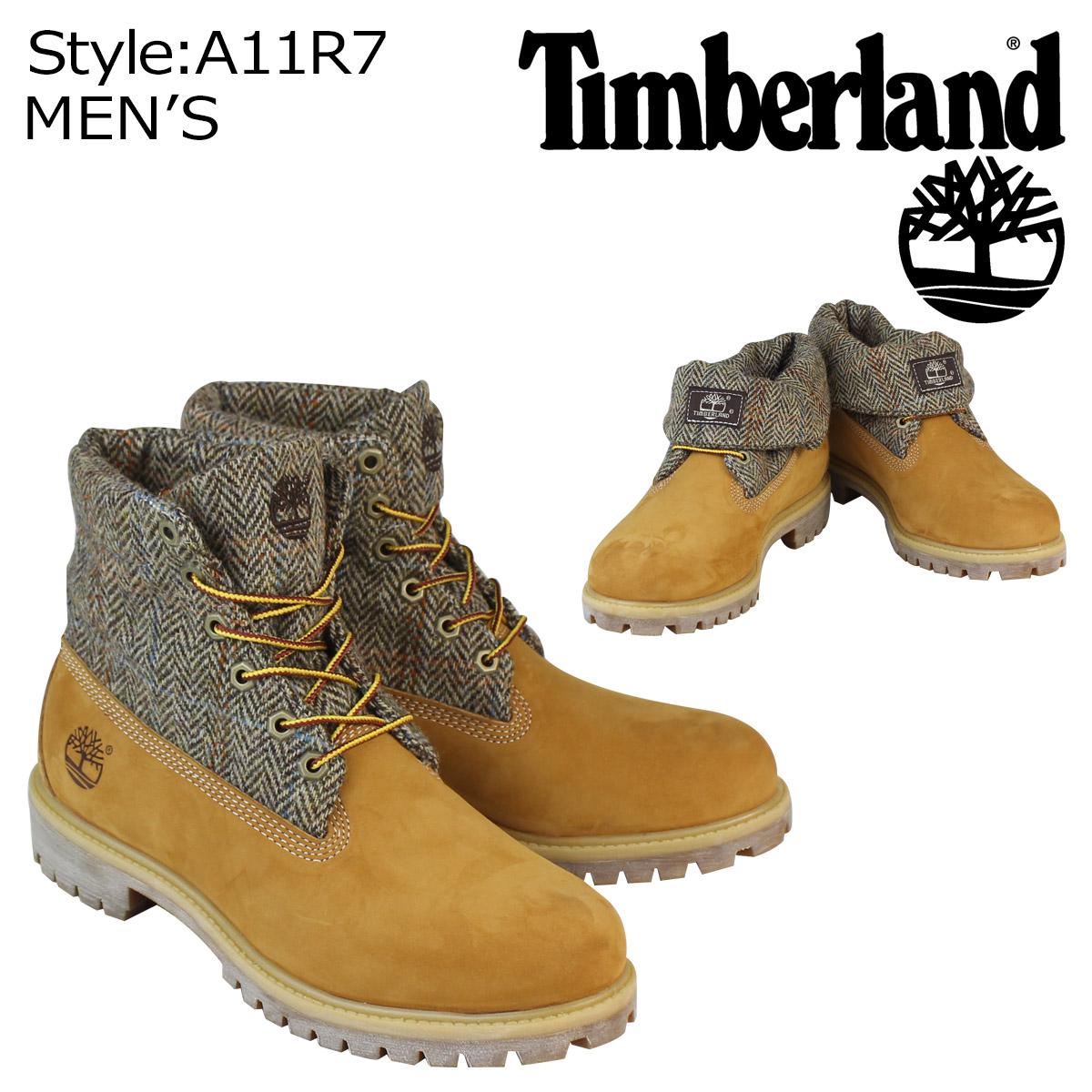 f17186c24083 ALLSPORTS   laquo Pre-order items raquo   laquo 12   11 around stock raquo  Timberland  Timberland men s ICON ROLL-TOP HARRIS TWEED FABRIC boots icon rolltop ...