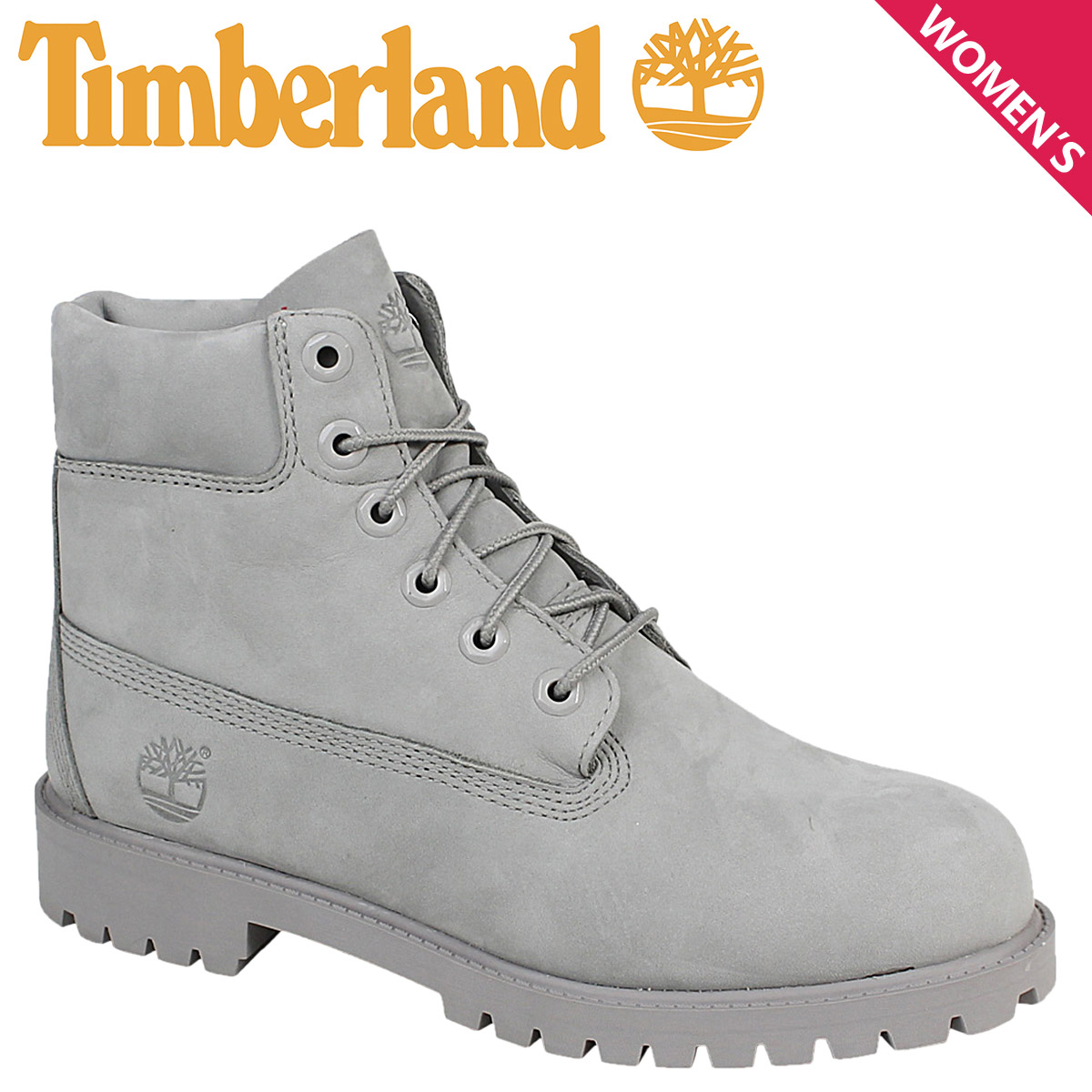 ALLSPORTS  Women s Timberland Timberland 6 INCHI 6 inch premium boots  JUNIOR 6-INCH PREMIUM WATERPROOF BOOTS A172F W wise waterproof grey  41e42c8d77a5