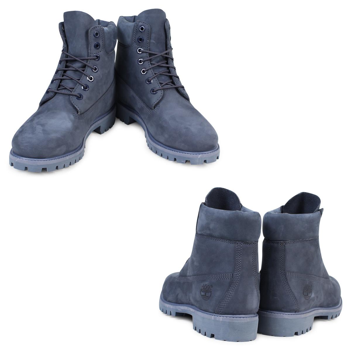 b757c1e5fc9 6 inches of Timberland 6INCH PREMIUM BOOT Timberland boots men A176X W Wise  premium waterproofing navies [12/8 Shinnyu load] [1712]