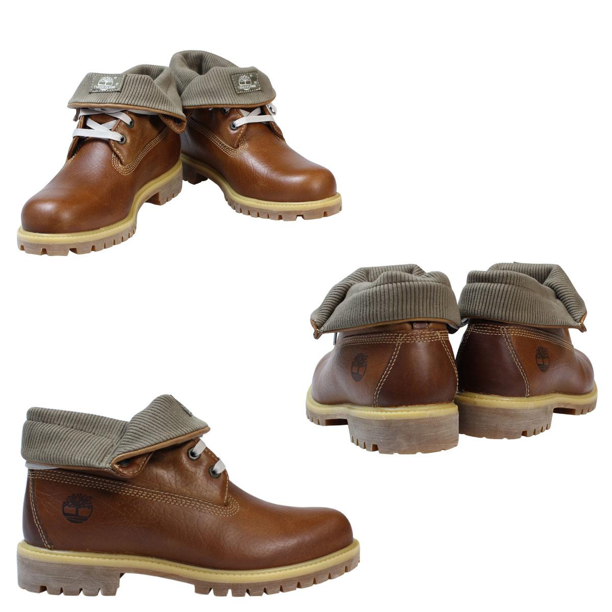天伯伦天伯伦辊筒靴翻盖靴 A17M1 W 明智防水棕色男装 [10/28 新股票]