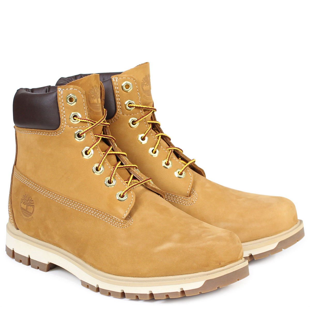 6 inches of Timberland RADFORD 6INCH PREMIUM BOOT Timberland boots men A1JHF waterproof W Wise waterproofing brown [187]