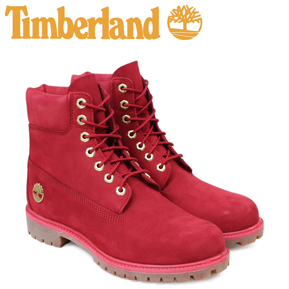 6 inches of Timberland men s timberland boots premium 6INCHI 6-INCH PREMIUM  WATERPLOOF BOOTS A1JLT W Wise red waterproofing  1 31 Shinnyu load  dca102f61d74
