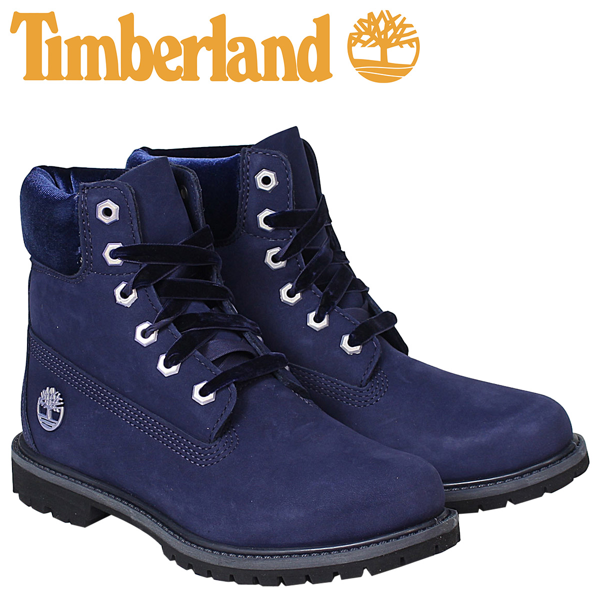 really cheap buying new online shop Timberland 6 inches lady's Timberland boots premium WOMENS 6INCHI PREMIUM  BOOTS A1KC5 W Wise navy [9/16 Shinnyu load] [179]