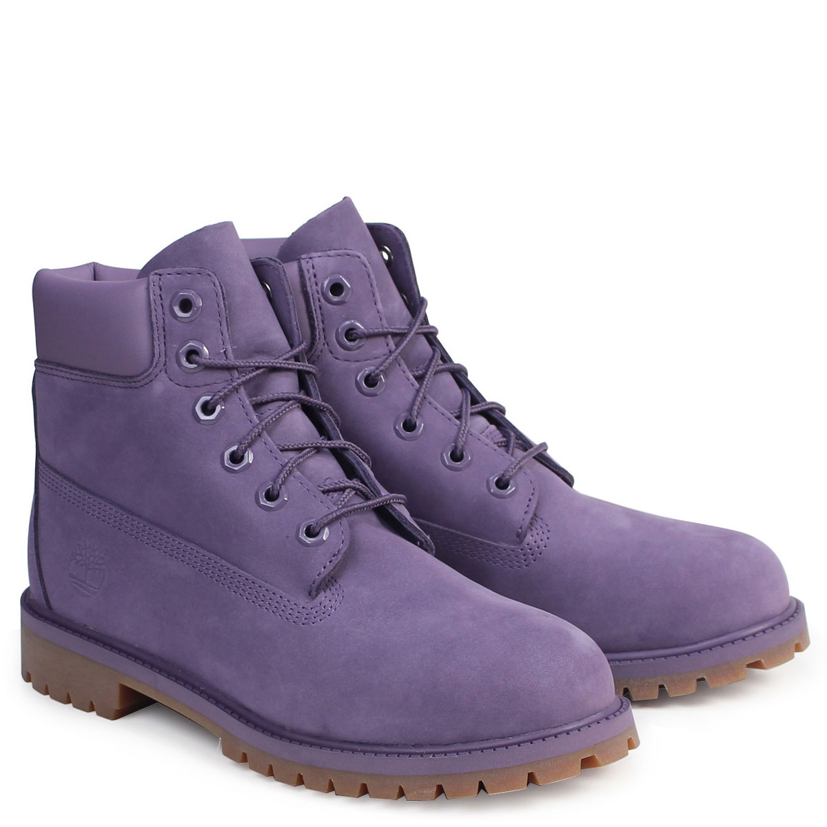 Timberland Lady's 6 inches Timberland boots 6INCHI PREMIUM WATERPROOF BOOTS A1OCR M Wise waterproofing purple [810 Shinnyu load] [178]