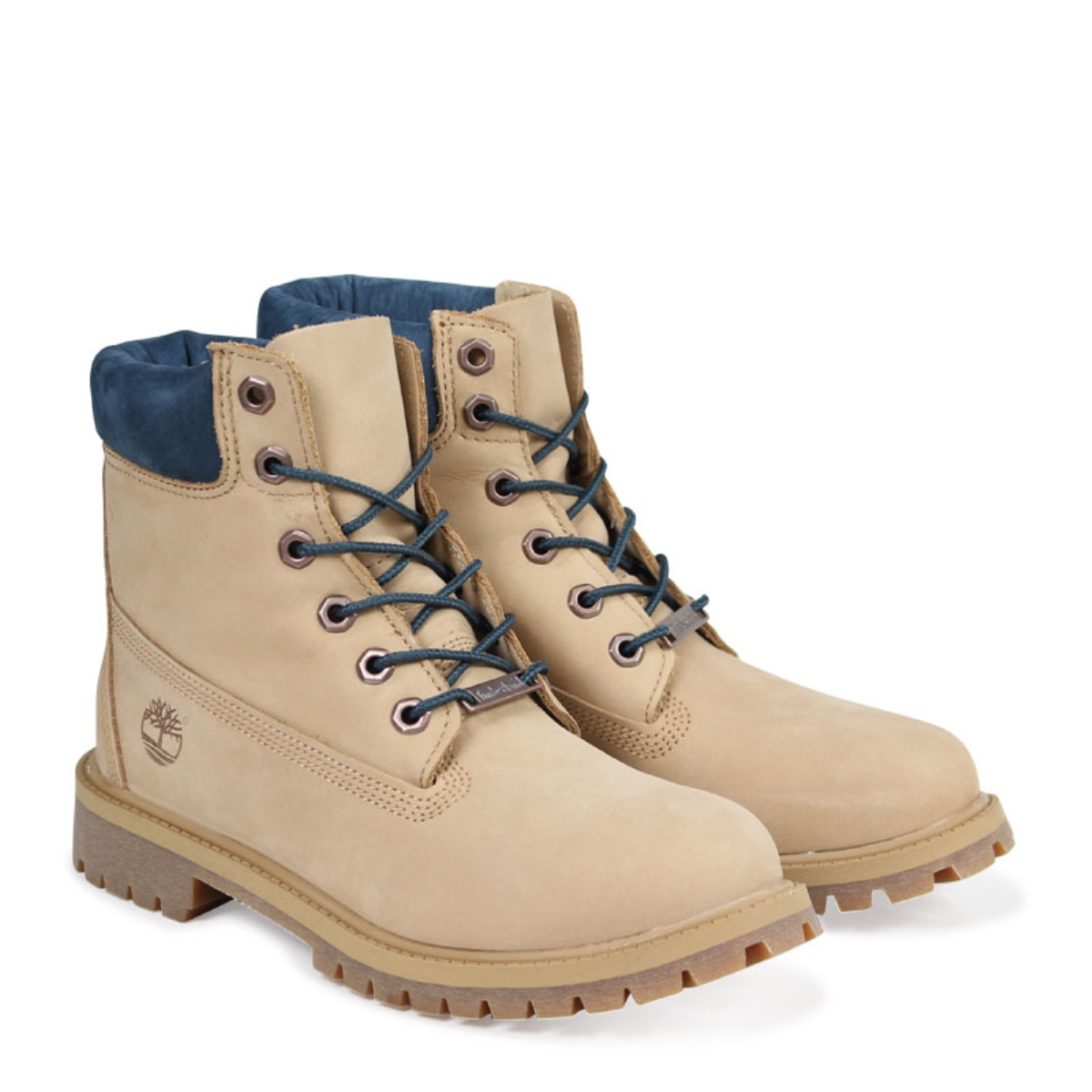 a1aad704ba0 Timberland JUNIOR 6INCH WATERPROOF BOOT Timberland Lady's boots 6 inches  kids A1PLO W Wise waterproofing beige [load planned Shinnyu load in ...