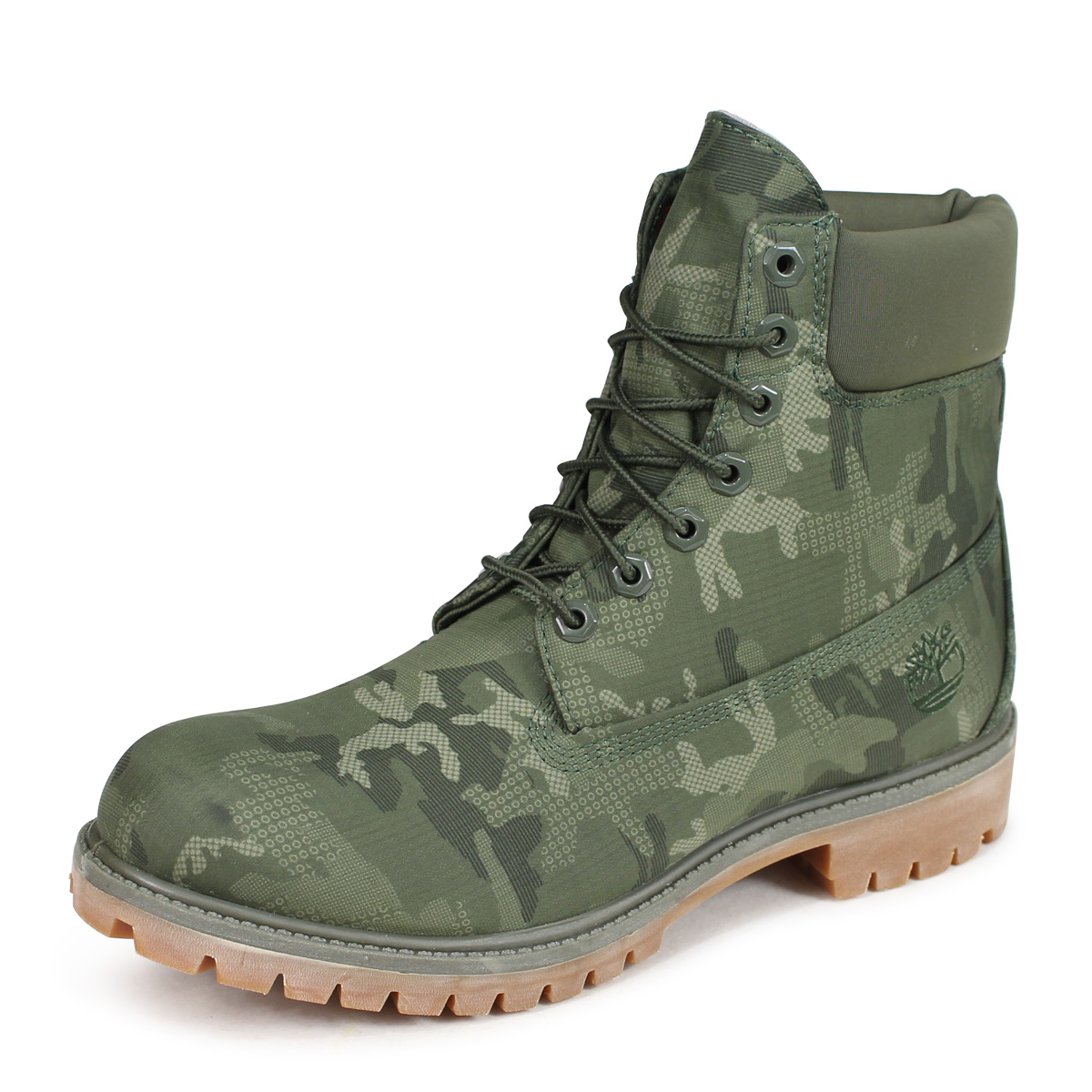 6 inches of Timberland 6 INCH PREMIUM FABRIC BOOTS Timberland boots men A1U9I W Wise dark green [192]