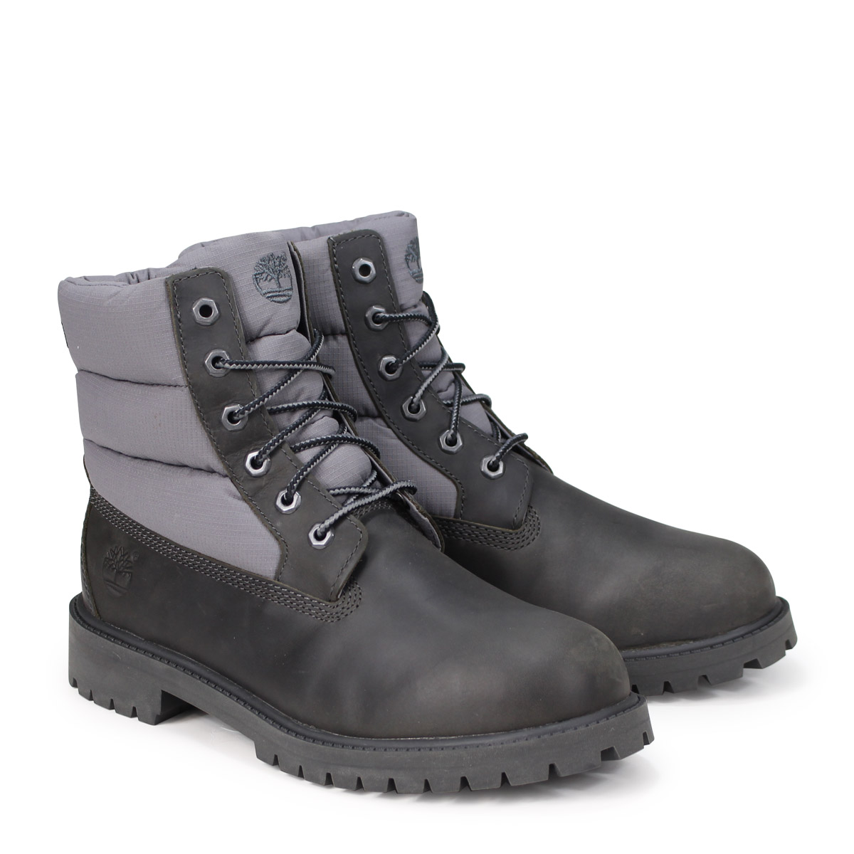 6 inches of Timberland 6 INCH PREMIUM GAITER BOOTS Timberland boots men A1UBP W Wise black [1810]