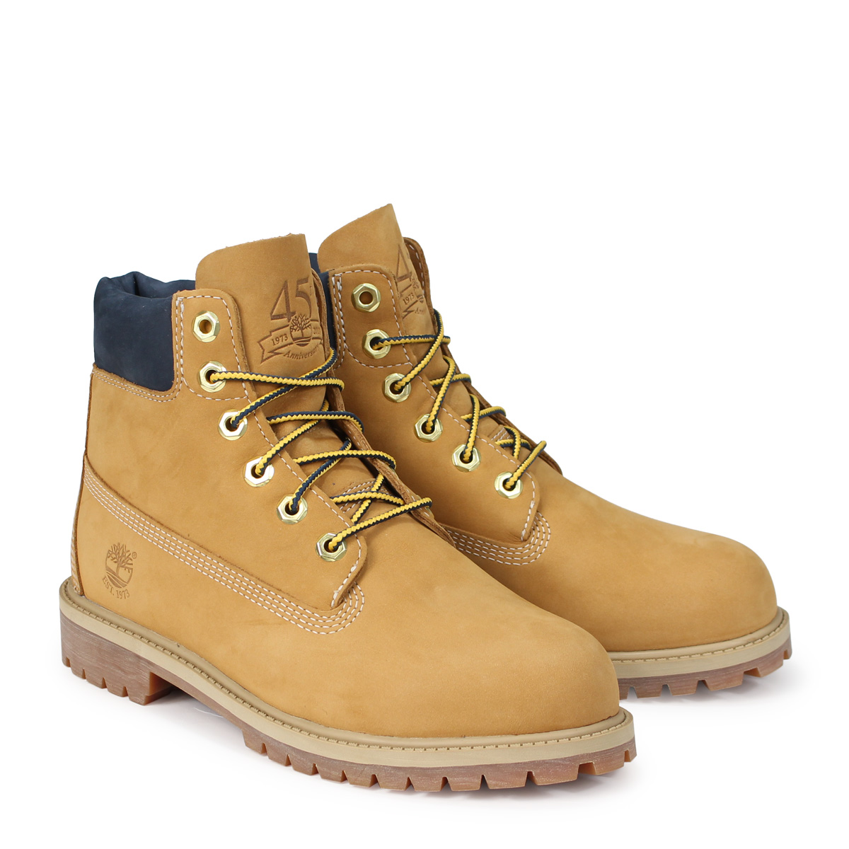 cdc0547e1097 Timberland JUNIOR 6-INCH PREMIUM WATERPROOF BOOTS Timberland boots Lady s 6  inches kids A1VE5 W ワイズウィート  10 11 Shinnyu load   1810