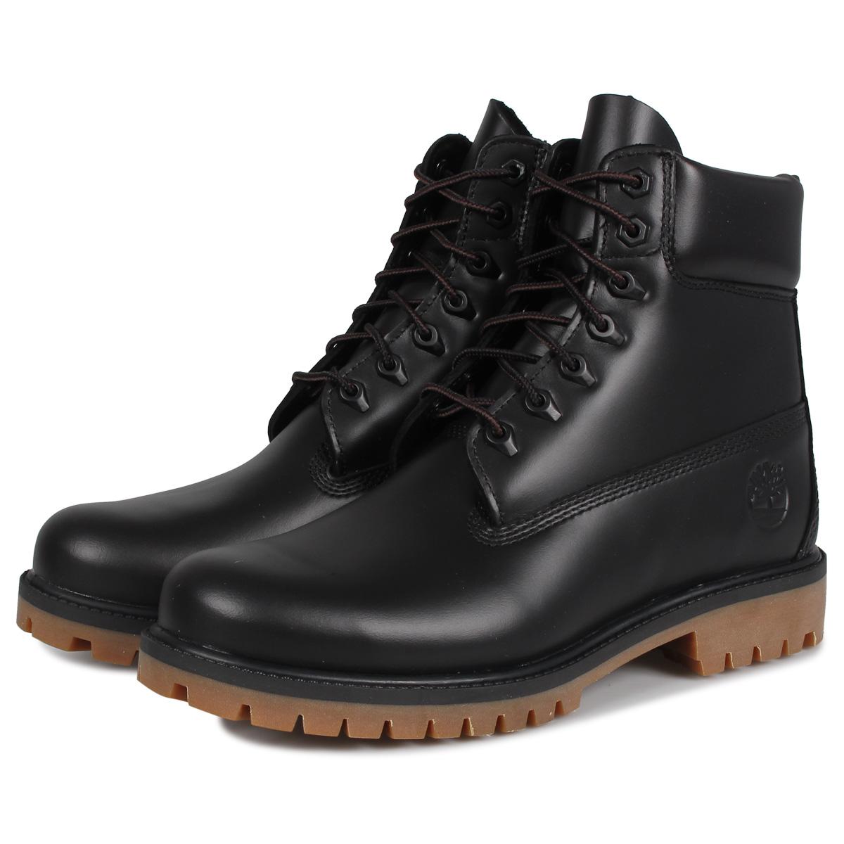 【最大2000円OFFクーポン】 Timberland 6INCH CLASSIC WATERPROOF BOOT ティンバーランド ブーツ 6インチ クラシック メンズ ウォータープルーフ ブラック 黒 A22WK