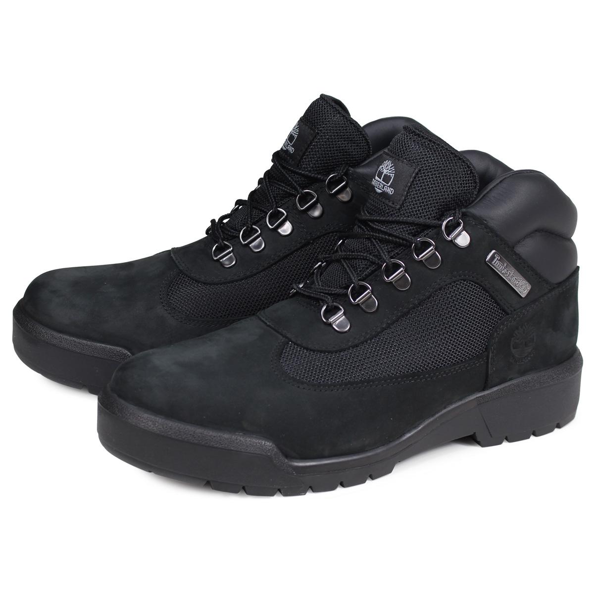 【最大2000円OFFクーポン】 Timberland FIELD BOOT F/L WATERPROOF ティンバーランド フィールド ブーツ メンズ Mワイズ 防水 ブラック 黒 A1A12