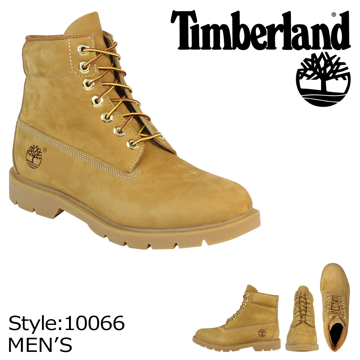 Timberland Timberland 6 inch basic waterproof boots 6 inch Basic Waterproof Boot nubuck mens 10066 wheat [11 14 Add in stock] [regular]