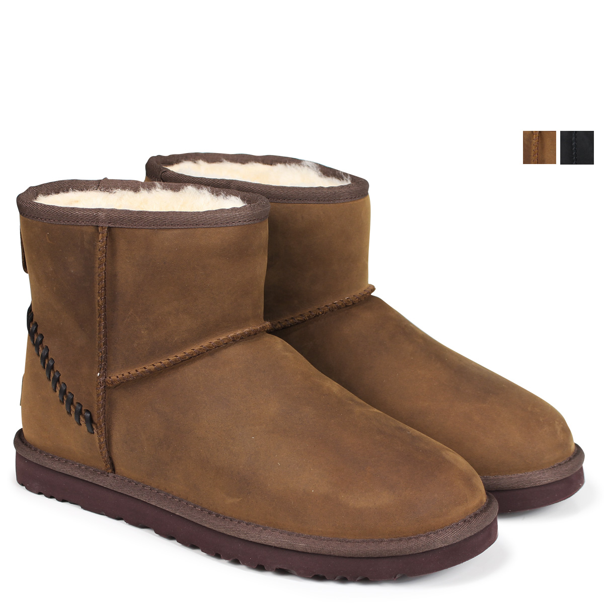 5a9fd7d5e83 アグ UGG men classical music mini-mouton boots MENS CLASSIC MINI DECO 1003945