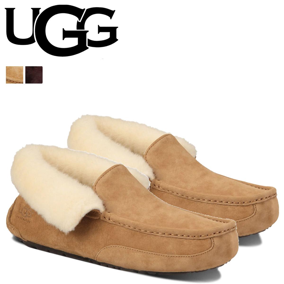 3a6b1563eff UGG UGG mens MENS GRANTT slip-on grant 1005255 chestnut [9/30 new in stock]