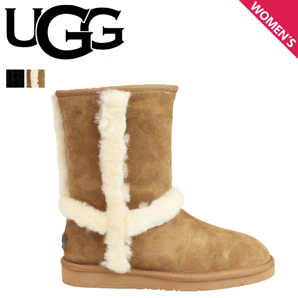 e51c25859e5 アグ UGG Carter mouton boots WOMENS CARTER TL 1005803 sheepskin Lady's