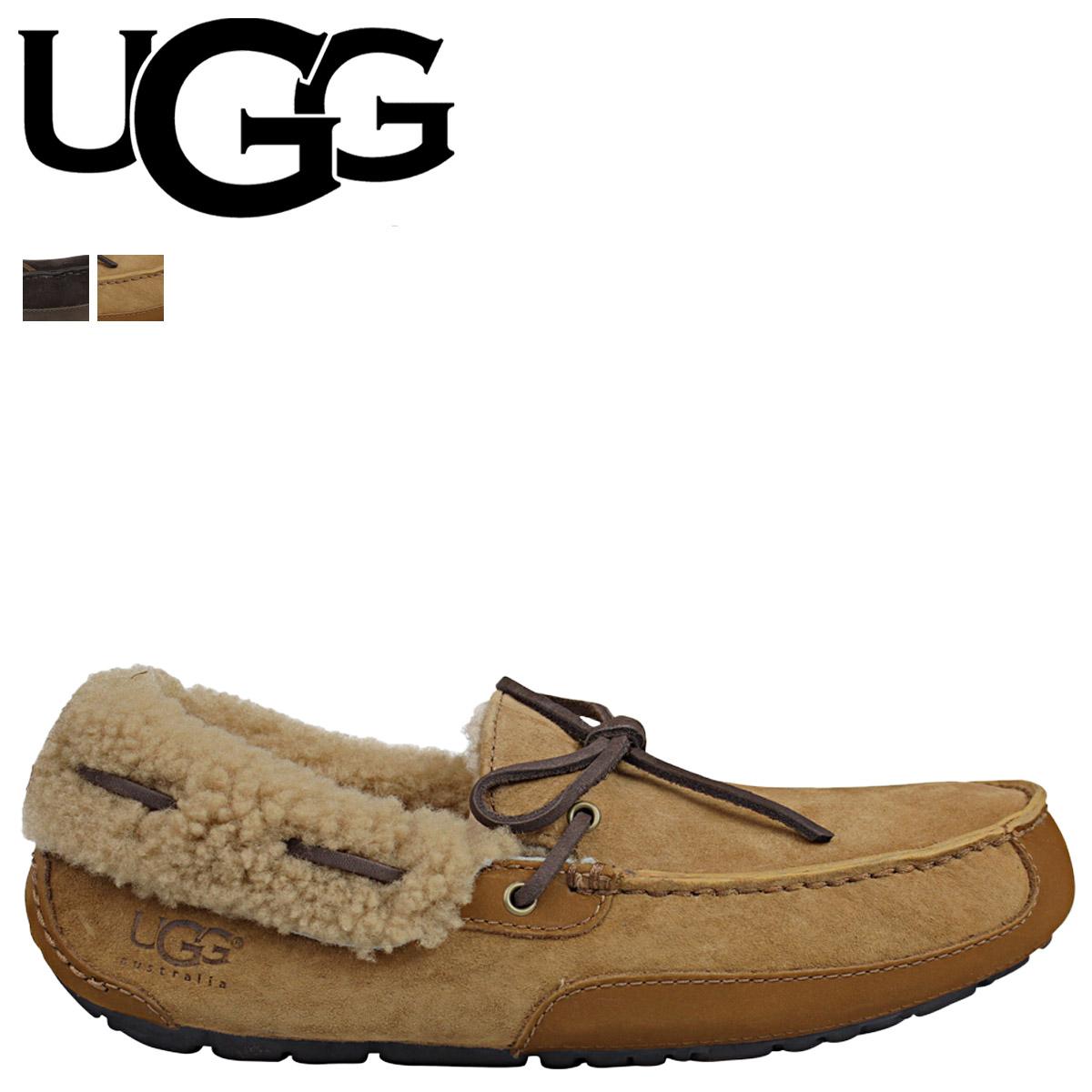cf3a886e858 UGG UGG men s FLEMING moccasin Shearling slip-on Fleming 1007805 2 color