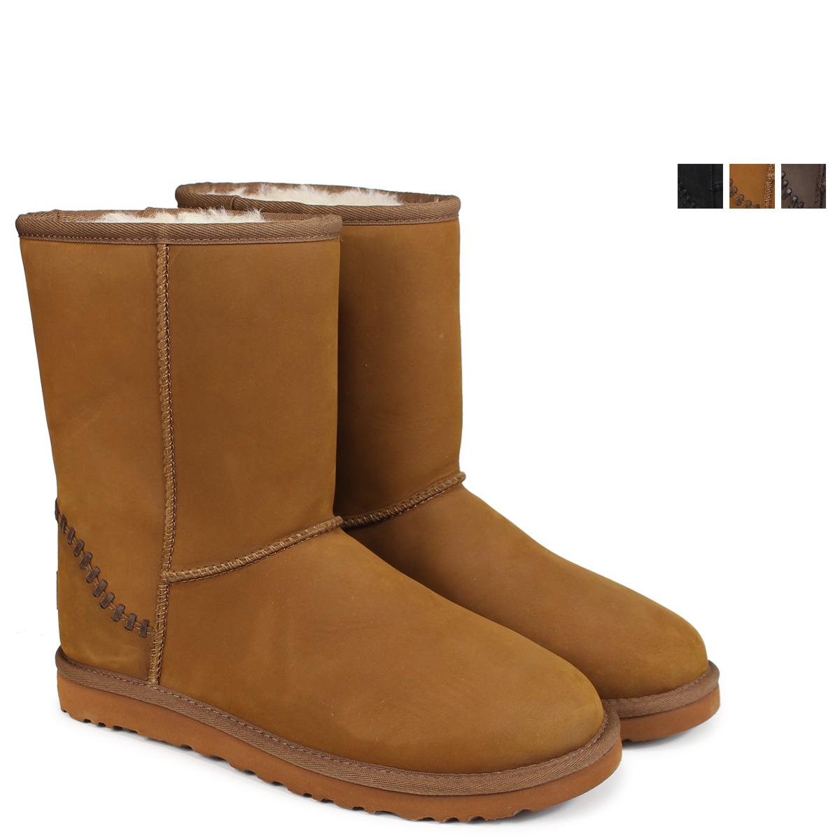 2a2df2e89c2 アグ UGG men classical music short mouton boots MENS CLASSIC SHORT DECO  1007307 sheepskin