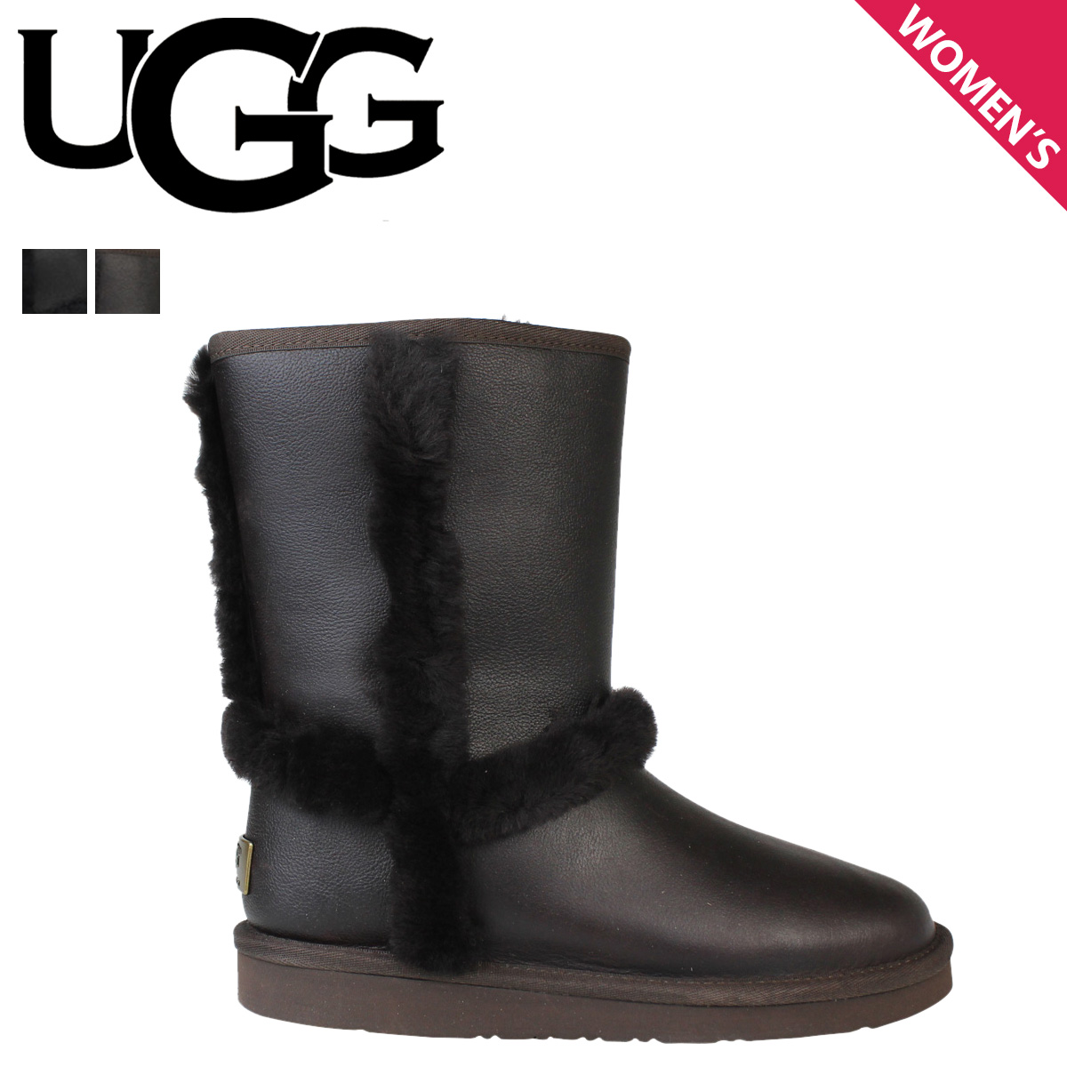 Womens Boots UGG Carter Chocolate