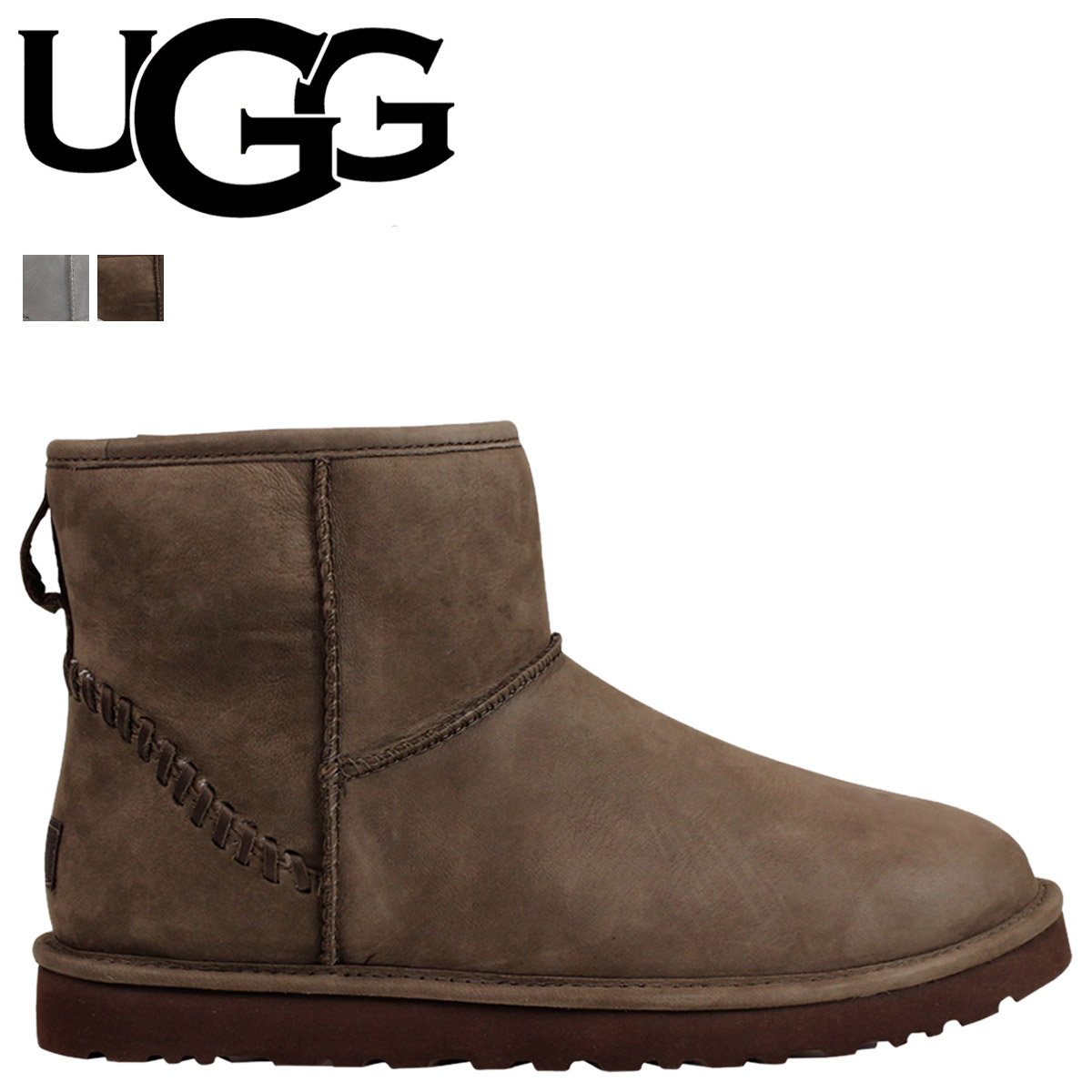 62efd7419bf UGG UGG men's MENS CLASSIC MINI DECO CAPRA Sheepskin Boots Classic mini  Deco Capra 1009687 2 color [9/30 new in stock]