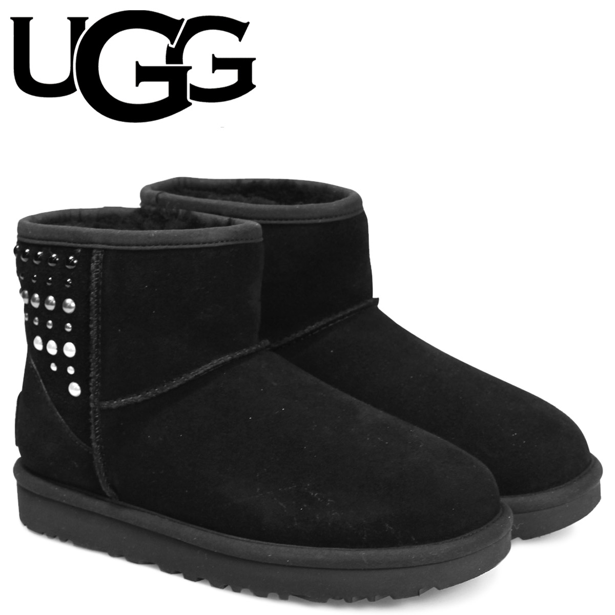Ugg UGG boots Sheepskin Boots Classic mini ladies WOMANS 1012393 CLASSIC MINI PEARLS genuine