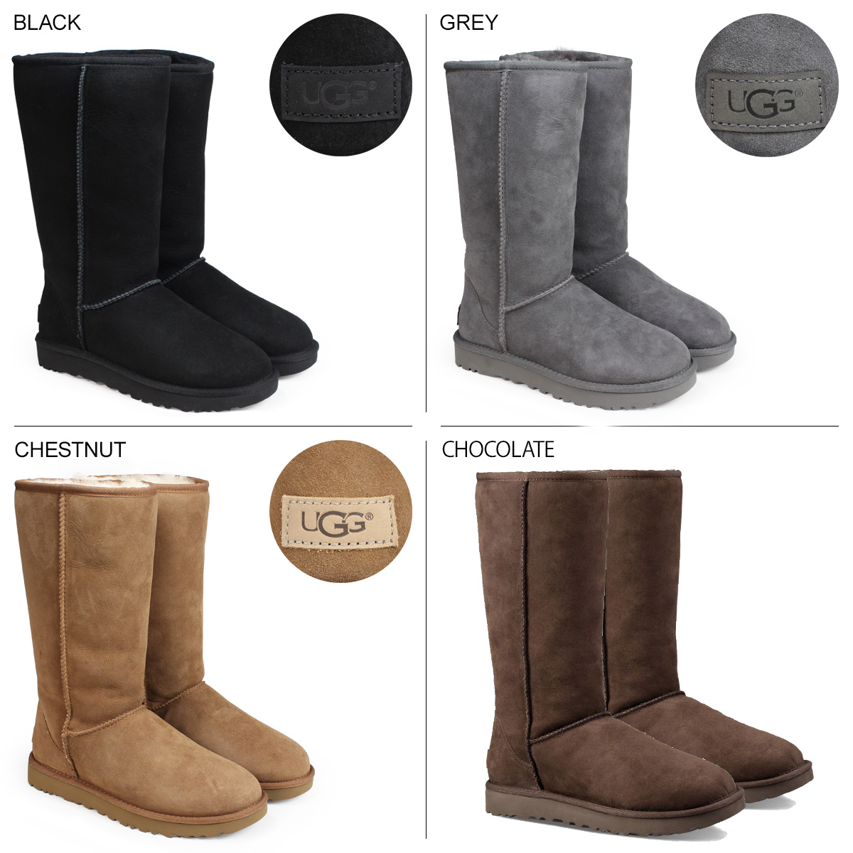 edc64e248bd UGG CLASSIC TALL II BOOT アグムートンブーツクラシックトール 1016224 Lady's [1810]