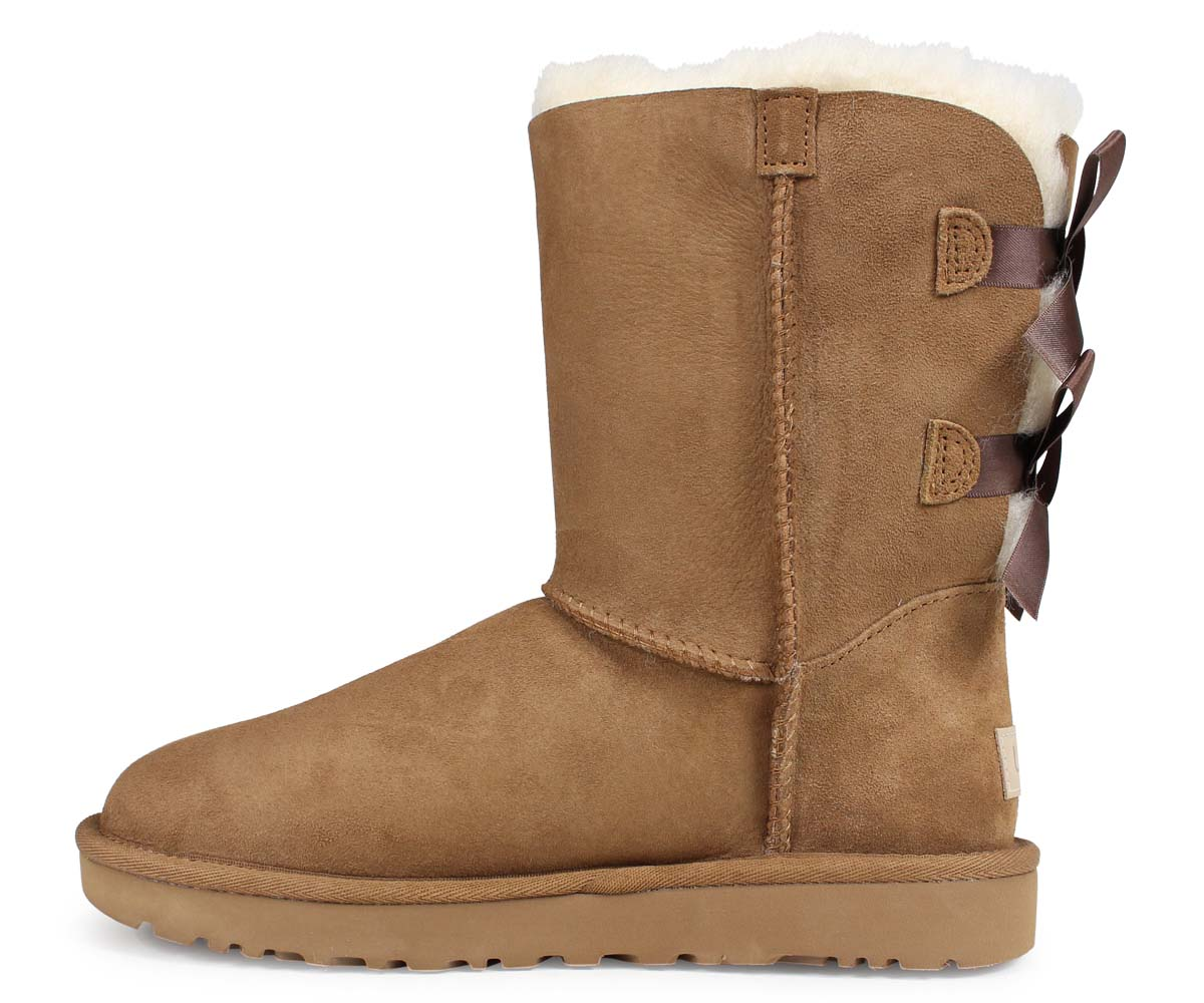 8ca01417a95 UGG WOMENS MINI BAILEY BOW II アグムートンブーツミニベイリーボウ 2 1016225 Lady's [1810]