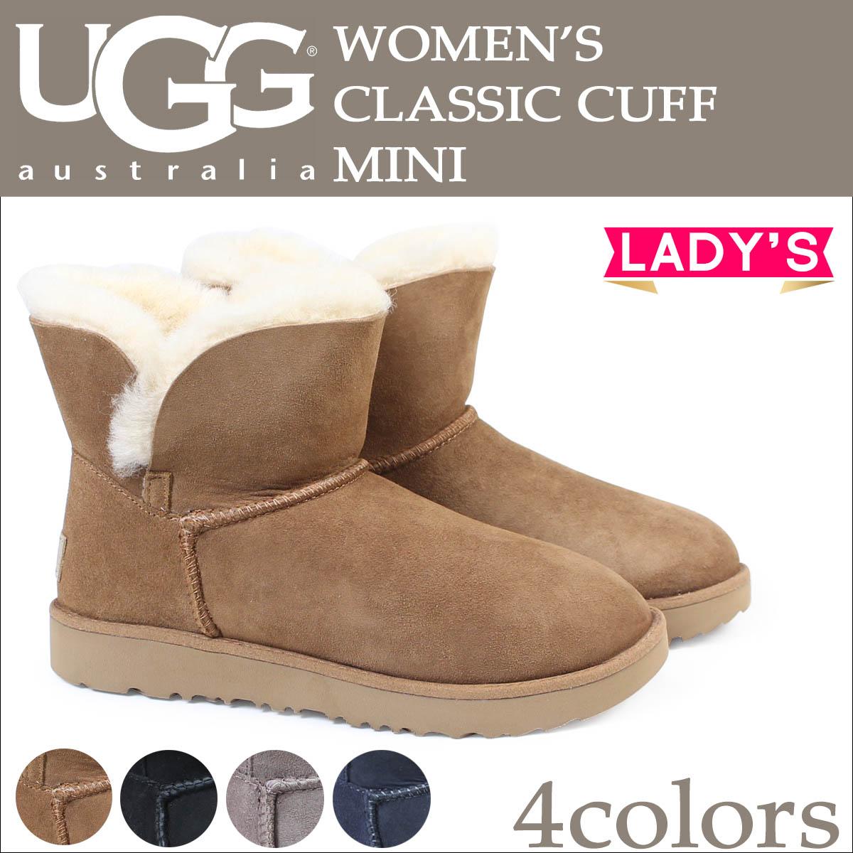 200193c176f low price ugg classic mini cuff black 2017 ddd7c 58500