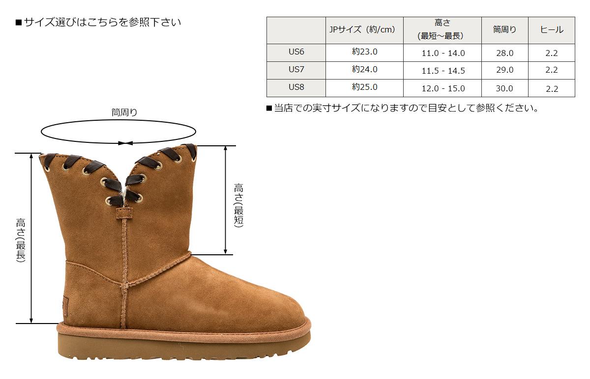 7390389c909 UGG WOMENS AIDAH agua Ida mouton boots Lady's 1018627 sheepskin suede [1711]